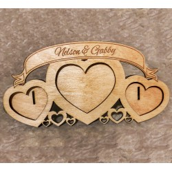 Wood Heart Frame