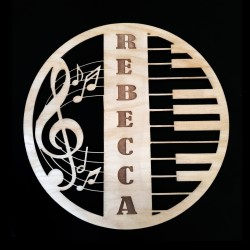Personalized Music Inspired Wall Decor
