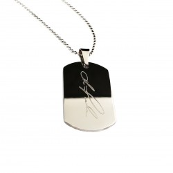 Personalized Signature Dog Tag