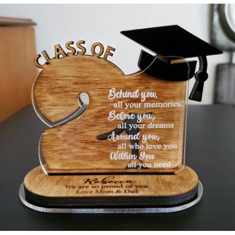 Class Of 2021 Graduation Plaque