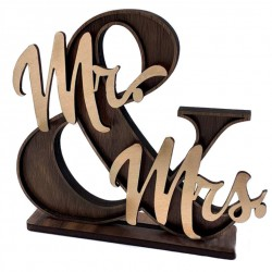 Mr & Mrs Ampersand Decor