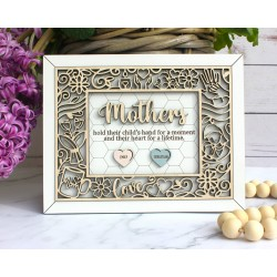 Mother's Quote Wood Decor